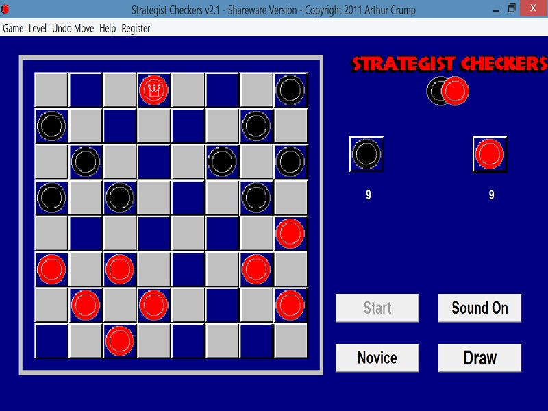 Click to view Strategist Checkers screenshots