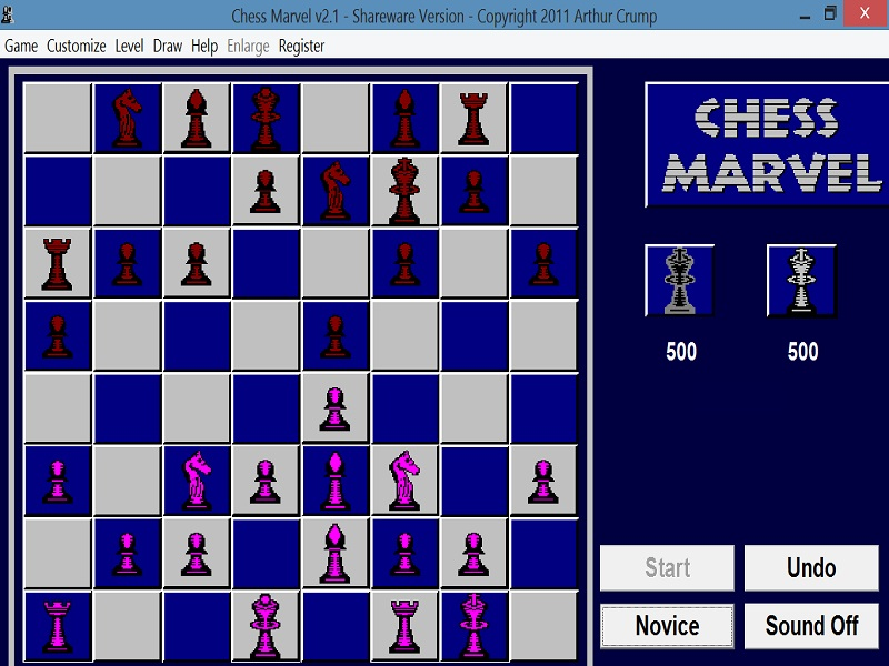 Click to view Chess Marvel 2.1 screenshot