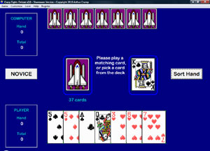 Click to view Crazy Eights Deluxe screenshots