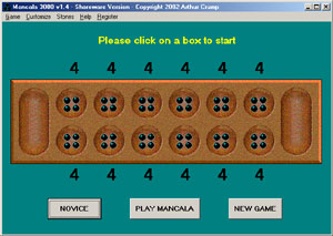 Click to view Mancala 3000 2.1 screenshot