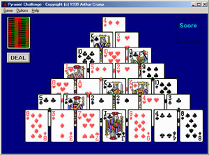 Play a different kind of solitaire cards on your computer.