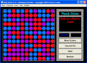 Rock Slide - The falling rocks game. Three Games in one.
