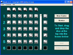 Click to view Sleuth 1.9 screenshot