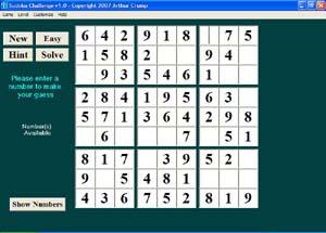 Sudoku Challenge 2.6